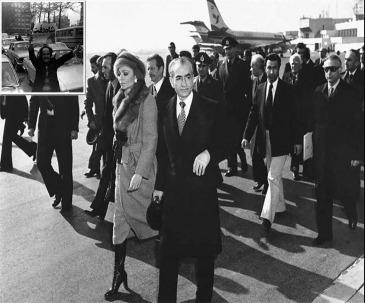 فرار شاه از ایران